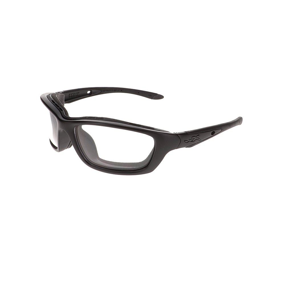 Wiley X Brick Safety Glasses in Matte Black WX-858