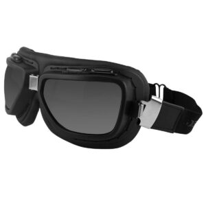 Bobster Pilot Matte Black Goggles