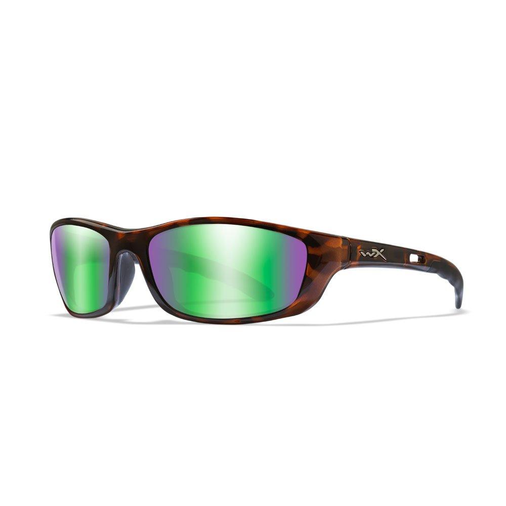 Wiley X P-17 Sunglasses in Brown Gloss Demi WX-P-17KA