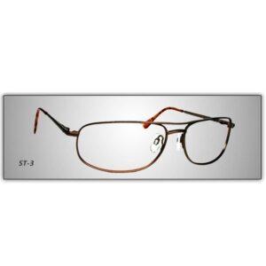 Hudson Optical Stainless Steel Series Eyeglasses