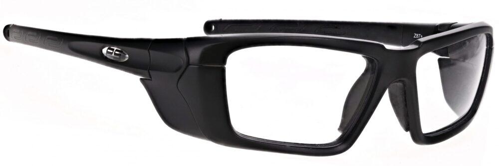 Model RX-Q300 safety glasses in black RX-Q300-BK