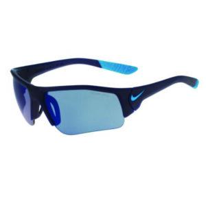 SKYLON ACE XV JR EV  MATTE MIDNIGHT NAVY BLUE LAGOON WITH GREY W BLUE SKY FLASH LENS