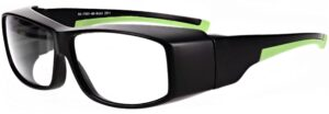 Model RX-17001-BK safety glasses in Black RX-17001-BK