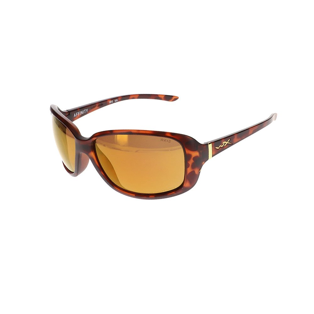 Wiley X Affinity Sunglasses in Matte Demi WX-ACAFN04