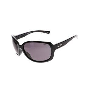 Wiley X Mystique Sunglasses in Gloss Black WX-ACMSQ08