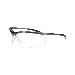 Bolle Contour Metal Clear Safety Glasses BO-CONTOURMETAL-40049