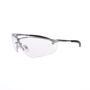 Bolle Silium Metal Safety Glasses with Clear Lens BO-SILIUM-40073