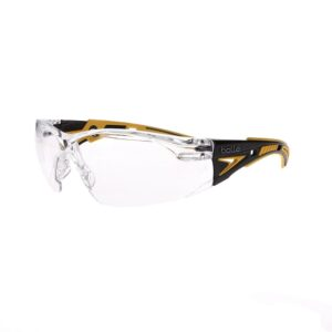 Bolle Rush+ Small Clear Safety Glasses BO-RUSH+-40250