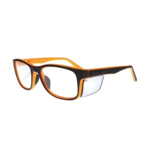 Bolle Kick Prescription Safety Glasses Black/Orange BO-KICK-KICMBKO