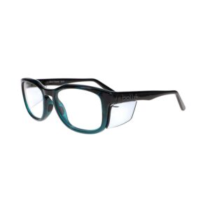 Bolle Spicy Prescription Safety Glasses in Black/Green BO-SPICY-SPISBKGN