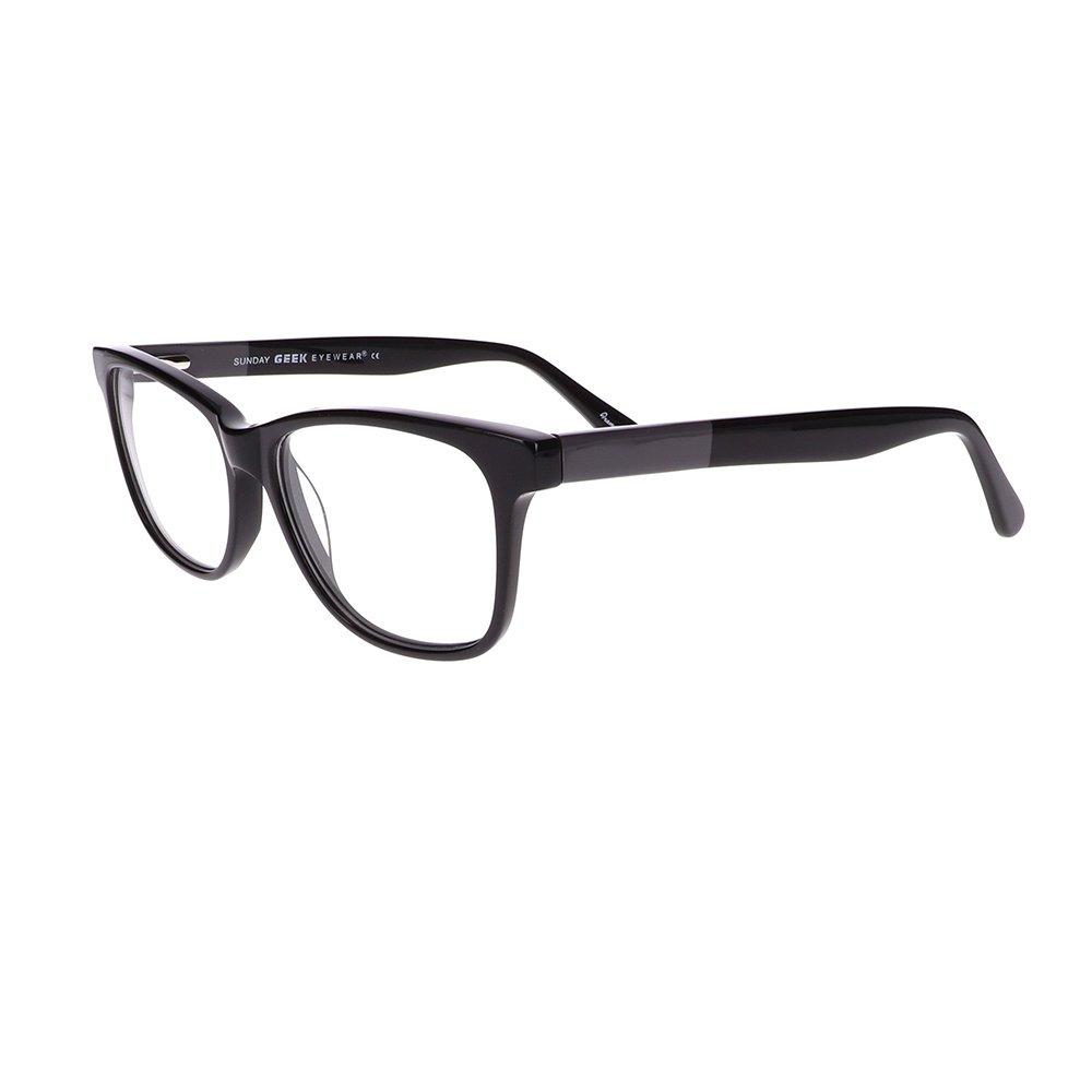 Geek Sunday Prescription Glasses in Black LBI-GK-SUNDAY-BK