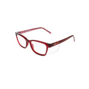 Wiley X Worksight Serenity Safety Glasses in Red Stripes WX-WSSRN05
