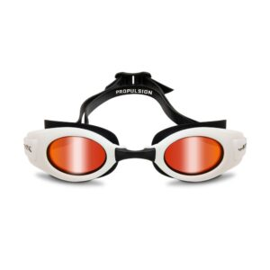 Wiley X Propulsion Swim Goggle in White with Red Mirror WX-ACPPL01