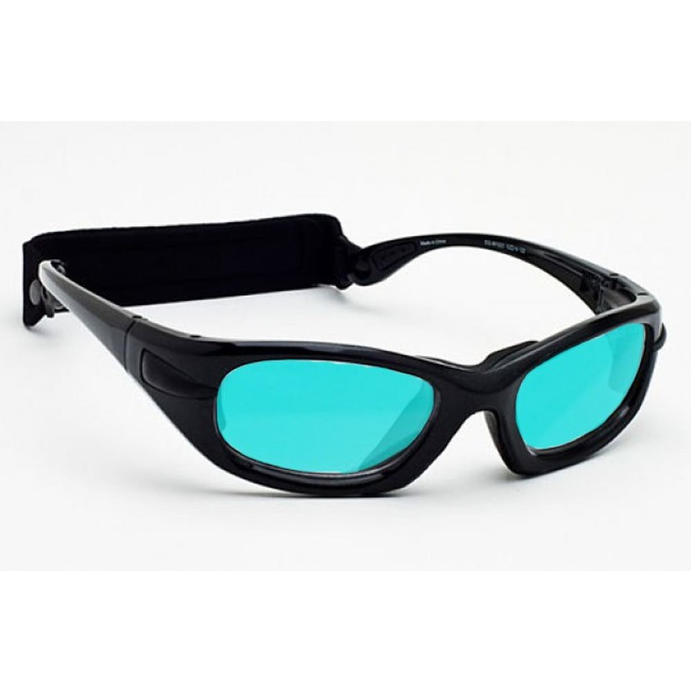 Radiation/Laser Combination Glasses